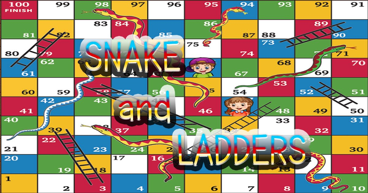 Image Snake and Ladders Game