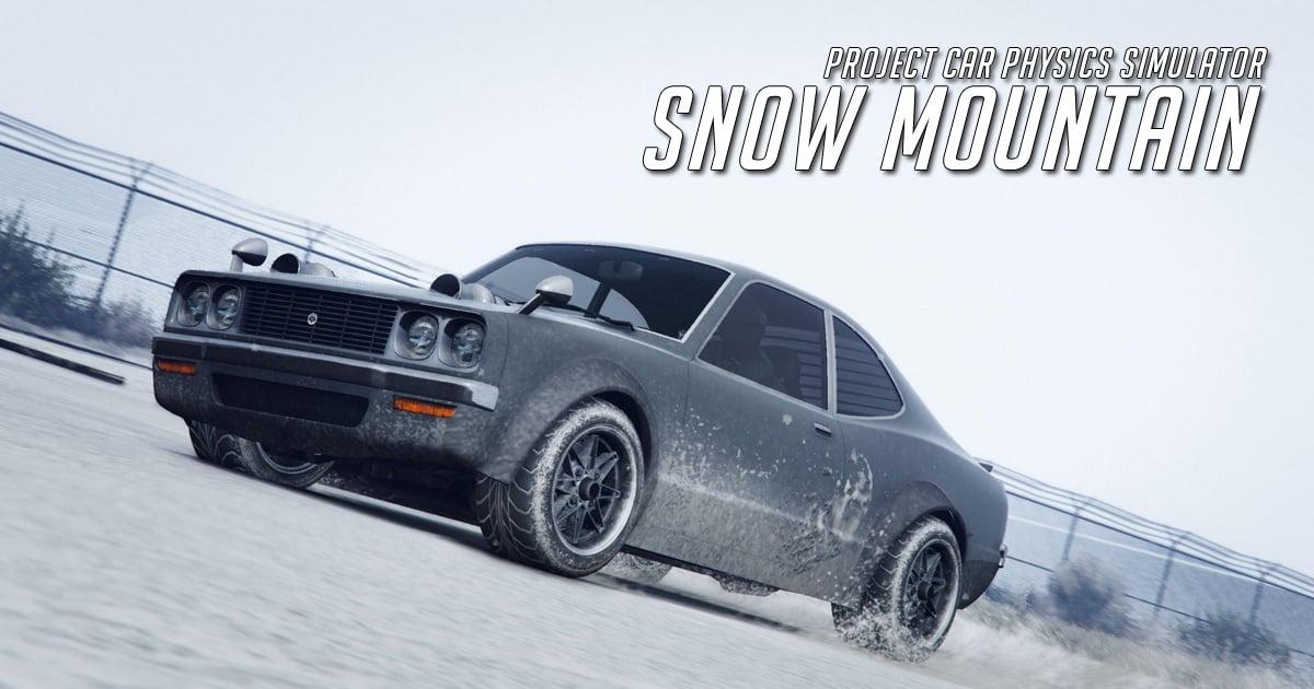 Image Snow Mountain Project Car Physics Simulator
