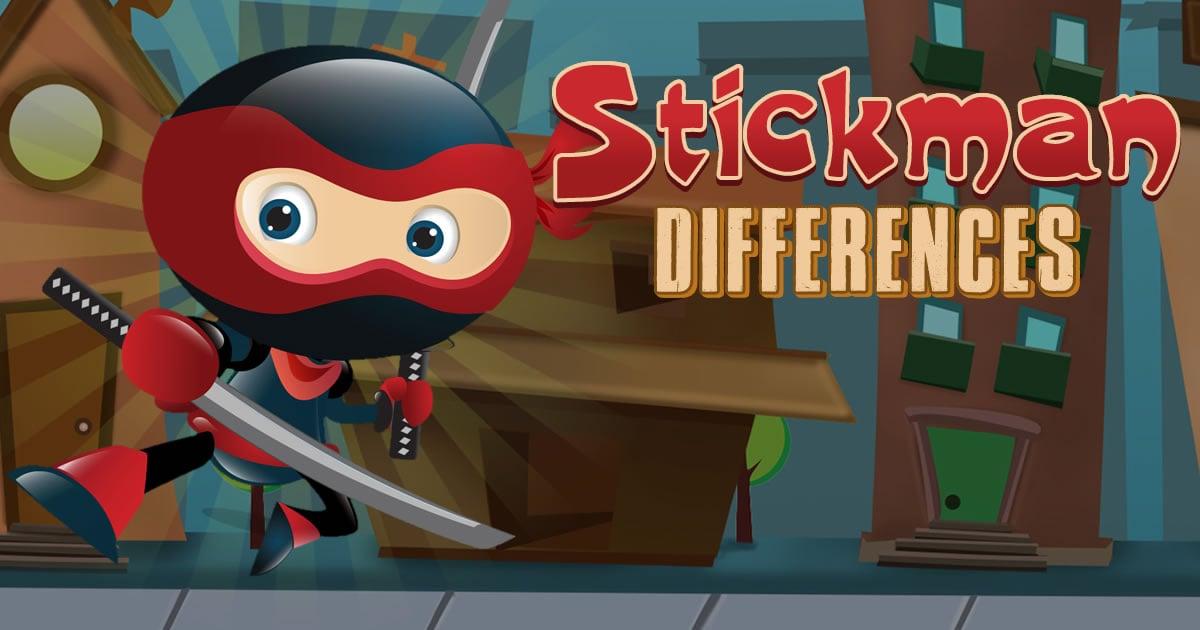 Image Stickman Differences