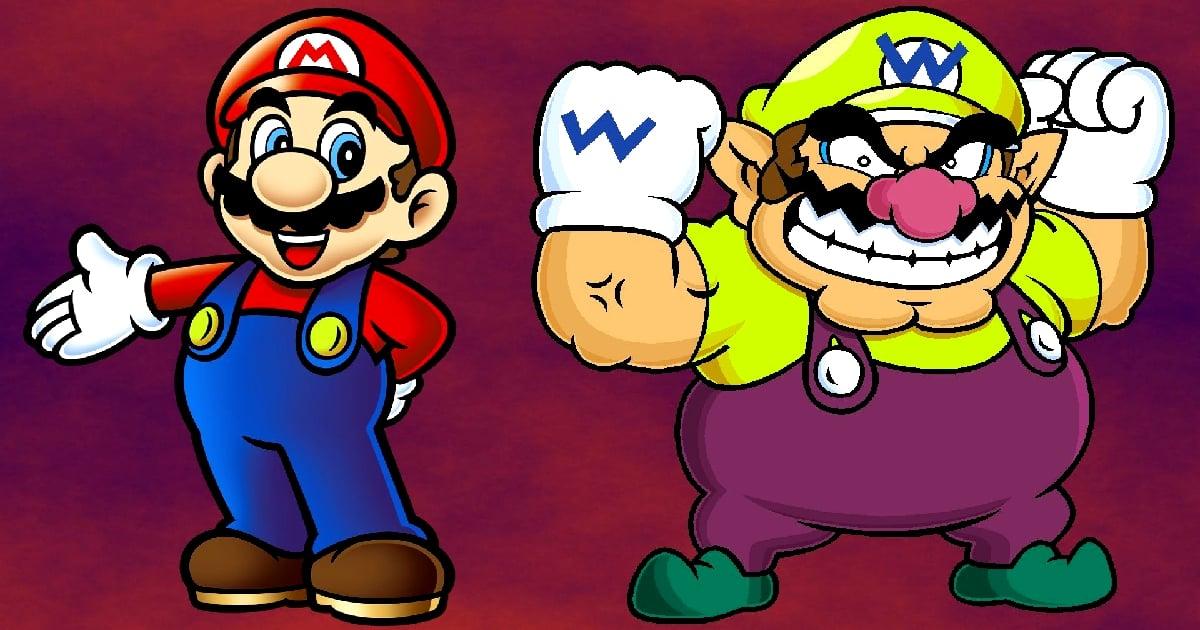 Image Super Mario vs Wario