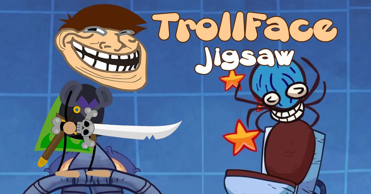 Image TrollFace Jigsaw
