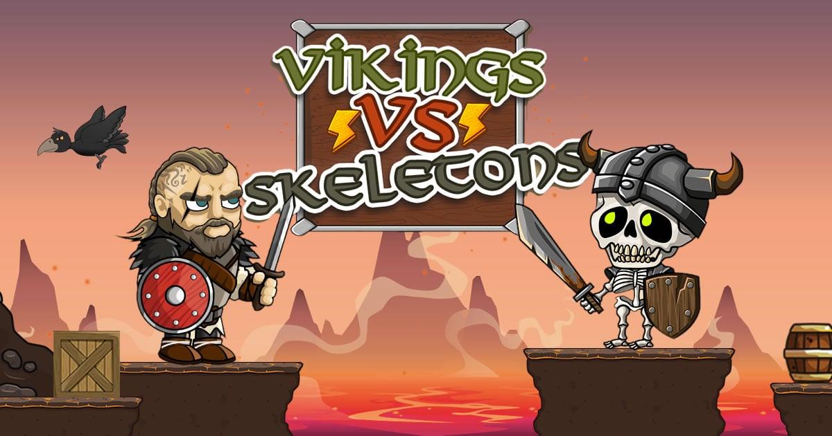 Image Vikings vs Skeletons