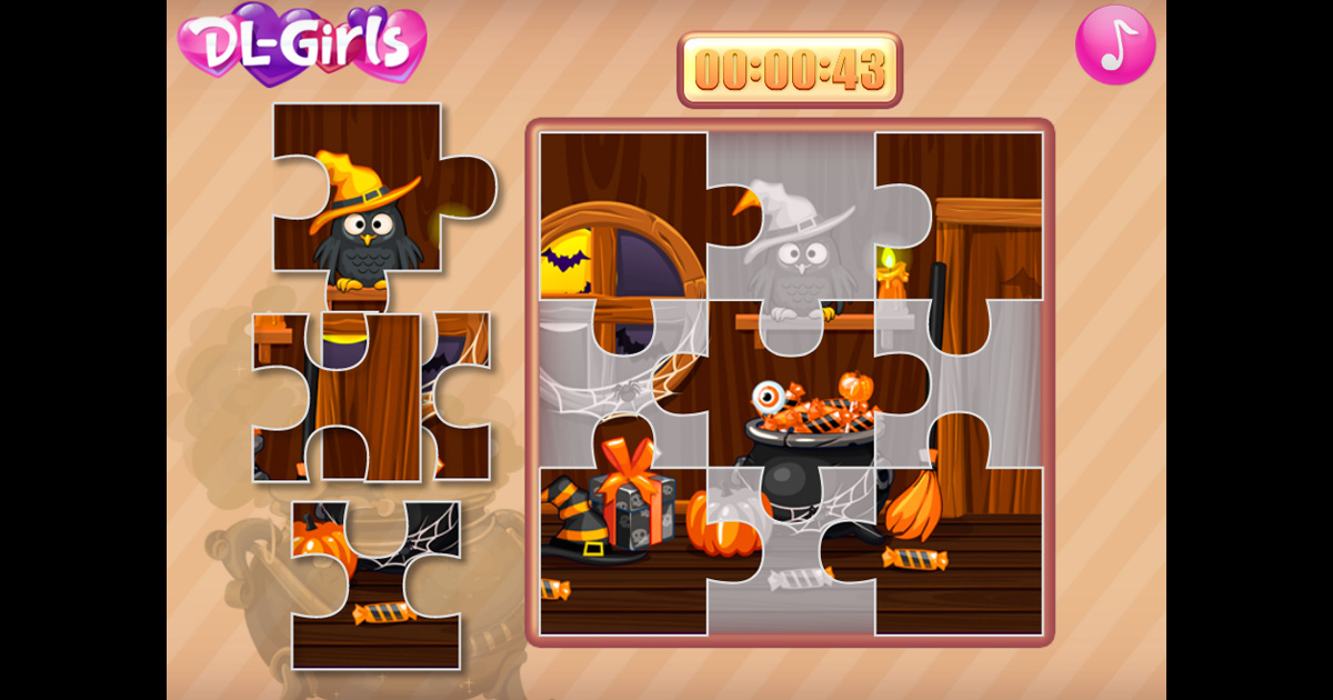 Image Witchs House Halloween Puzzles