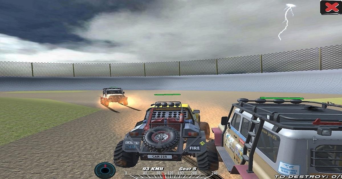 Image Xtreme Offroad Truck 4x4 Demolition Derby 2020