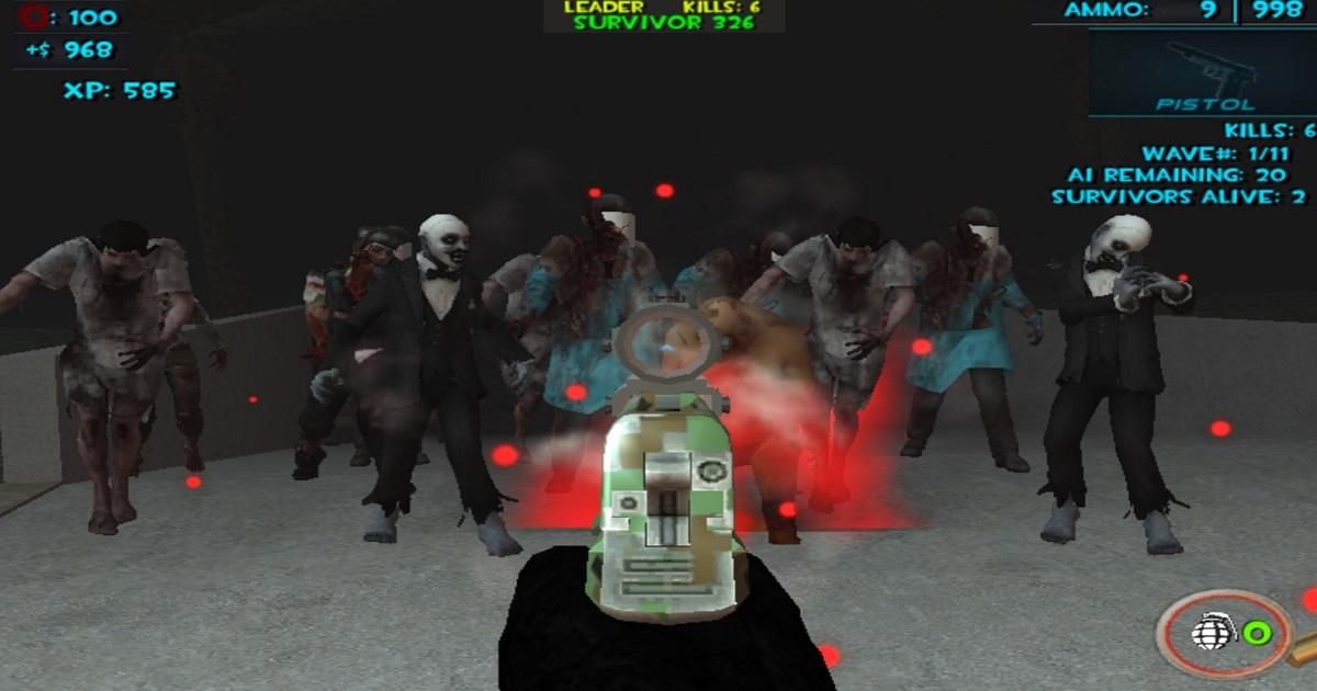 Image Zombie Apocalypse Tunnel Survival