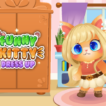 Funny Kitty Dressup